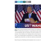 genau hingucken – Wahl USA